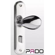 Fechadura Zamac Banheiro 40mm Concept Esp 404b Cr - Pado