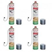 **Kit 04 Jimo Cupim Spray 400ml Incolor Mata Cupim E Brocas