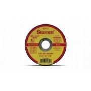 Disco De Corte Abrasivo 115 X 3 X 22,2 Mm Dac115-34 Starrett