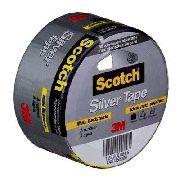 Fita Silver Tape Reparos Fixação 45mmx5mt Scotch 3m