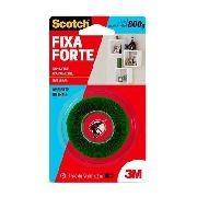 Fita Dupla Face 3m Transparente Fixa Forte 800g 19mmx2mt