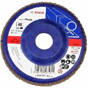 Disco Flap 4 1/2 Blue Metal Gr 40 Bosh