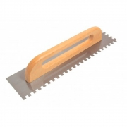 Desempenadeira de Aço Dentada 10 x 10 mm - 48 cm - CORTAG