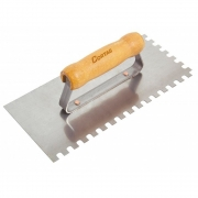 Desempenadeira de Aço Dentada 8 x 8 mm - 26 cm - CORTAG
