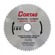 Disco De Serra Corte Madeira Mdf 72dentes 110x20mm Cortag