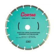 Disco Diamantado Concreto e Viga 230 mm Cortag