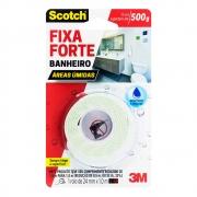 Fita Dupla Face 3M Fixa Forte Banheiros Úmidos 24mmx1,0metro