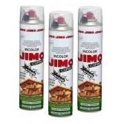 Kit 03 Jimo Cupim Spray 400ml Incolor Mata Cupim E Brocas