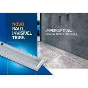Kit 03 Ralo Linear Invisível Oculto 50cm Tigre Banheiros