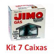 Kit 07 Caixa Jimo Gás Fumigante Detetizador 14 Unidades 35g
