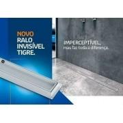 Kit 07 Ralo Linear Oculto Invisível 90cm Tigre Banheiro