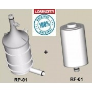 Kit Refil Filtro De Água Naturalis Rp-01+ Rf-01 Lorenzetti