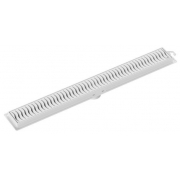 Ralo Linear 50Cm Grelha Branca Tigre