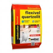 Rejunte Flexível 1kg Weber Color Bege Quartzolit