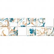 Revestimento Incepa INS BLOSSOM BLUE Acetinado (A) 30x90,2cm