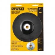 """Suporte para Disco de Fibra 7"""" (180mm) semiflexível  DEWALT"""