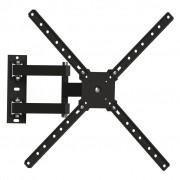 Suporte Tv Lcd 10 A 55 Tri-articulado Preto Brasforma SBRP 1040