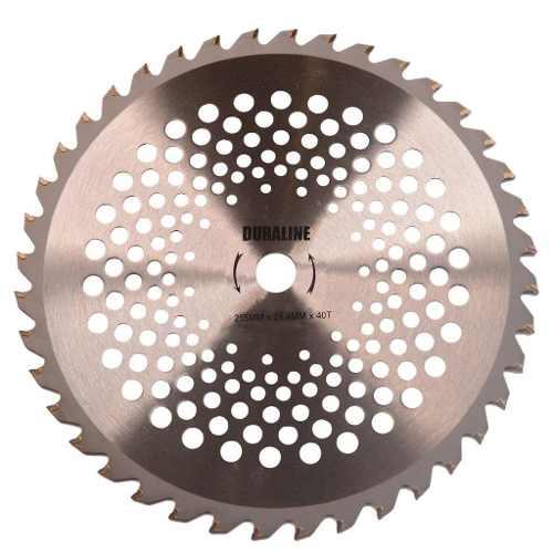 Disco Serra 40 Dentes Rocadeira Husqvarna e Stihl 255mmx20mm