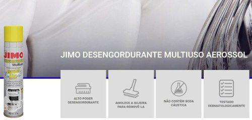 Jimo Desengordurante Spray Limpa Forno Fogão Microondas Gril