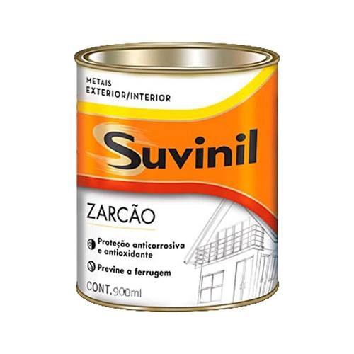 Zarcão Suvinil 900ml Fundo Anti Ferrugem Para Ferro E Metais