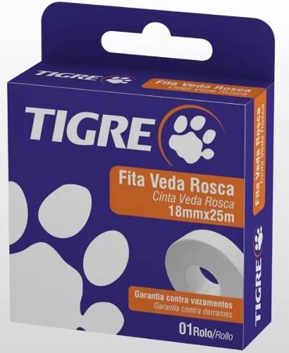 Fita Veda Rosca 18mmx50mt Tigre