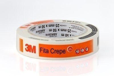 Fita Crepe 3m 24mmx50mt