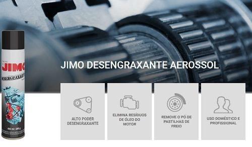 Jimo Desengraxante Remove Óleo Graxa De Motor Carros Moto