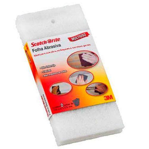 Folha Abrasiva Extra Fina 110x225mm 3m Limpa Lixa Remove