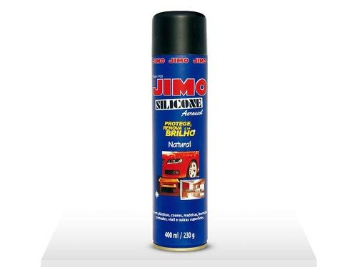 Jimo Silicone Spray Natural 400ml Uso Automotivo E Doméstico
