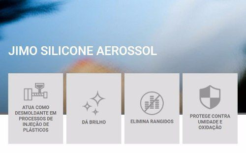Jimo Sillicone Spray Marine 400ml Uso Automotivo E Domestico
