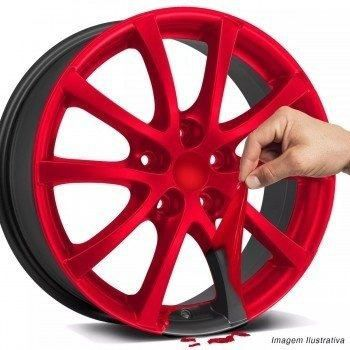 Tinta Spray Envelopamento Dip Color Vermelho Fosco 400ml