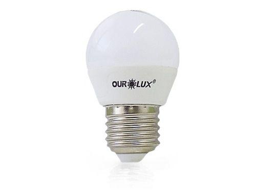 Lampada Led 4w Bolinha 6500k Fria Bivolt Ourolux