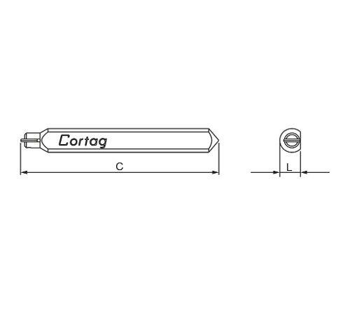 Rodel 80 Mm Cortag 60200