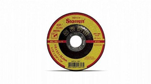 Disco De Desbaste 115 X 5 X 22,2 Mm Dad 115-54 Starrett