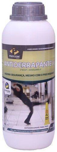 Antiderrapante Lp Pisos Porcelanatos Granitos Pisoclean 1l