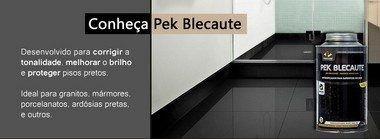 Pek Blecaute Limpa Realça Porcelanato E Granito Preto Pisoclean