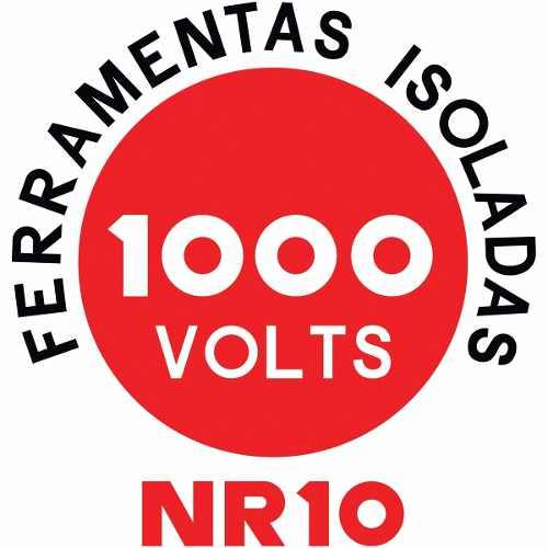Alicate Meia Cana 6 Tramontina Nr10 1000v Ref 41008/106