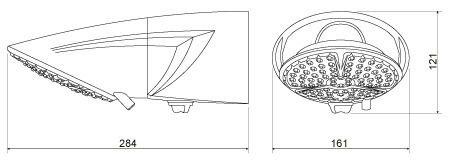 Chuveiro Ducha Top Jet Eletrônica Lorenzetti 127v/5500w