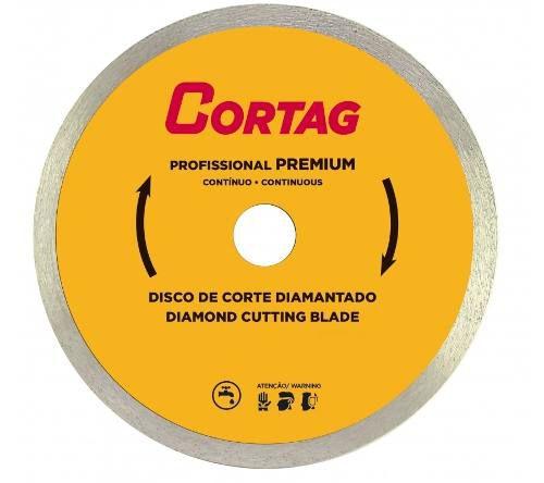 Disco De Corte Diamantado 180x22,2mm Zapp 180 Cortag