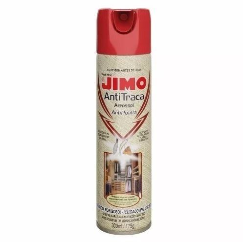Jimo Antitraça Spray Aerossol 300ml Mata Traça