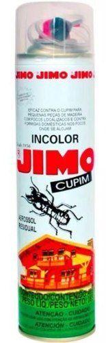 Jimo Cupim 400ml Incolor Mata Cupins E Brocas