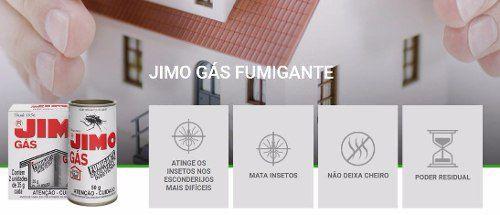 Jimo Gás Fumigante Detetizador 02 Unidade De 35g