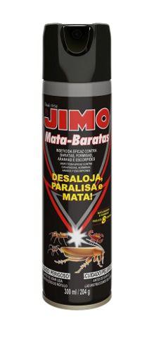 Jimo Mata Baratas Aerossol 300ml Aranhas Escorpiões Formigas
