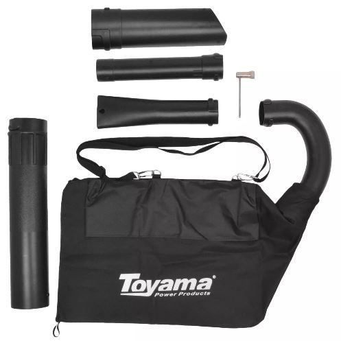 Sopro Aspirador de Folhas a Gasolina 2 tempos TVB26 GII Toyama 25,4cc/1.0h