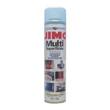 Jimo Multi Superfícies 400ml Limpa Eletronicos, Piso, Metais