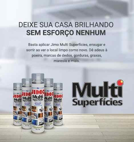Jimo Multi Superfícies 400ml Limpa Eletronicos, Piso, Metais