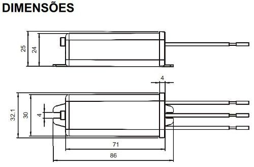 Relé Fotoeletrônico Compacto 500w Bivolt Rfe-10 Margirius