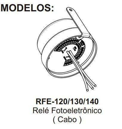 Relé Fotoeletrônico C/ Cabos 1000w Bivolt Rfe-130 Margirius