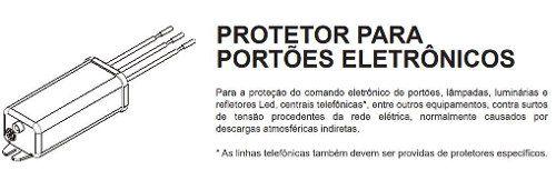 Protetor Portão Eletrônico 4,5ka Bivolt Ppe-4k5 Margirius