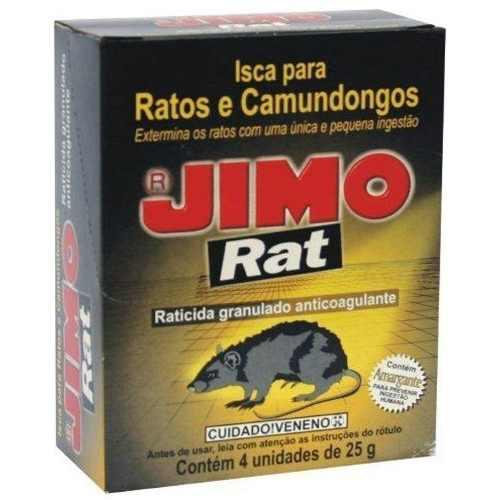 Jimo Rat 100gr Mata Rato, Camundongos